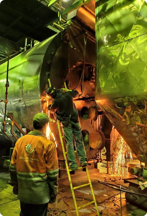 Calderas e Ingeniería Industrial